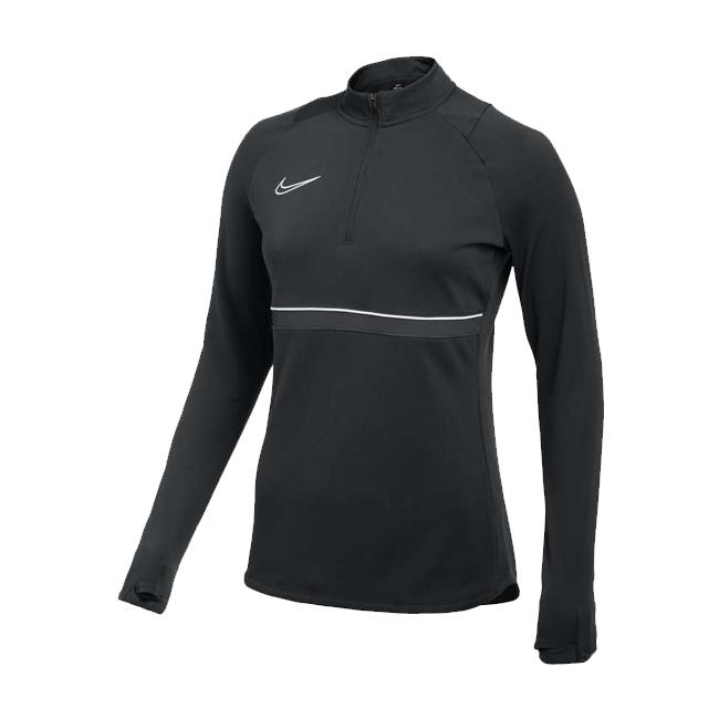 Sweat d'entrainement Nike Academy 21 Femme Noir Blanc CV2653-014