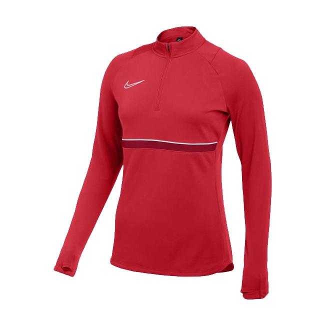 Sweat d'entrainement Nike Academy 21 Femme Rouge Blanc CV2653-657