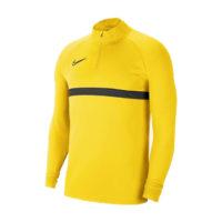 Sweat d'entrainement Nike Academy 21 Jaune Noir CW6110-719