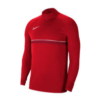 Sweat d'entrainement Nike Academy 21 Rouge Blanc CW6110-657