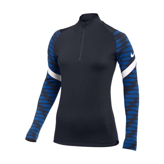 Sweat d'entrainement Nike Strike 21 Femme Bleu marine Bleu roi CW6875-451