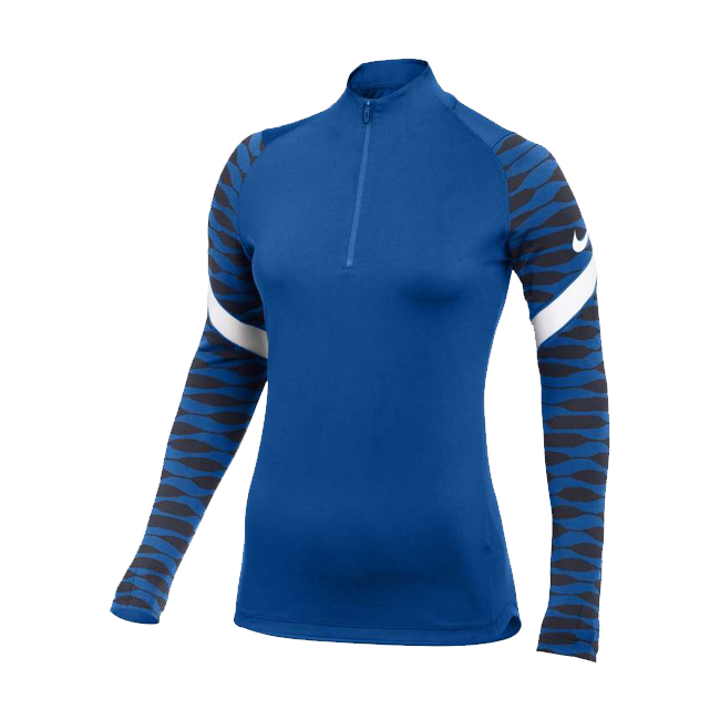 Sweat d'entrainement Nike Strike 21 Femme Bleu roi Bleu marine CW6875-463