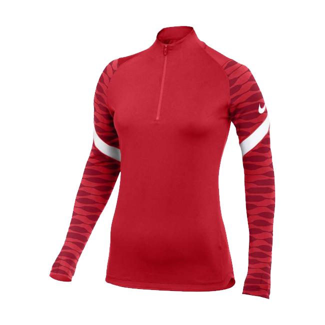 Sweat d'entrainement Nike Strike 21 Femme Rouge Blanc CW6875-657
