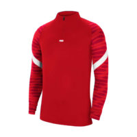 Sweat d'entrainement Nike Strike 21 Rouge Blanc CW5858-657