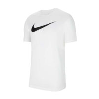 Tee-shirt Nike Team Club 20 Blanc Noir CW6936-100