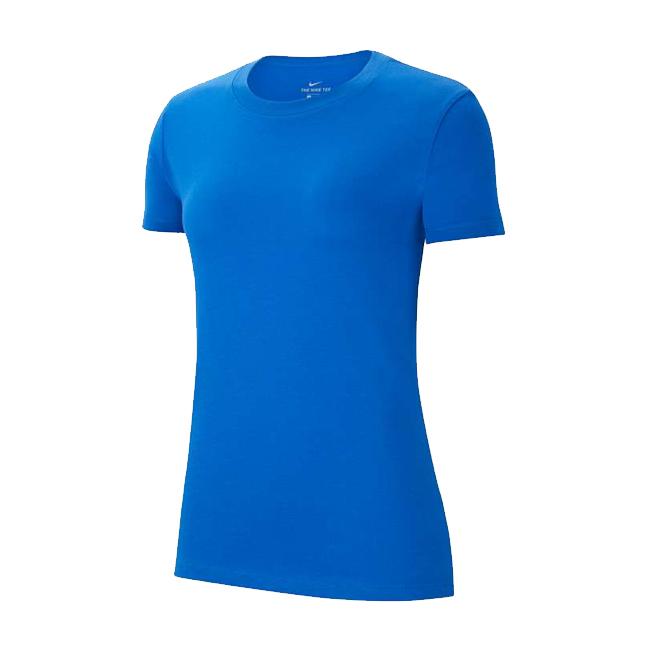 Tee-shirt Nike Team Club 20 Femme Bleu roi Blanc CZ0903-463