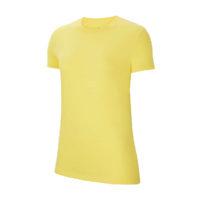 Tee-shirt Nike Team Club 20 Femme Jaune Noir CZ0903-719