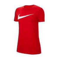 Tee-shirt Nike Team Club 20 Femme Rouge Blanc CW6967-657