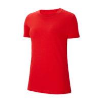 Tee-shirt Nike Team Club 20 Femme Rouge Blanc CZ0903-657