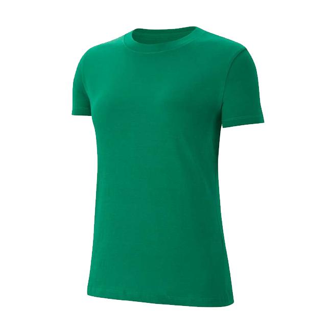 Tee-shirt Nike Team Club 20 Femme Vert Blanc CZ0903-302