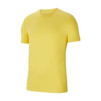 Tee-shirt Nike Team Club 20 Jaune Blanc CZ0881-719