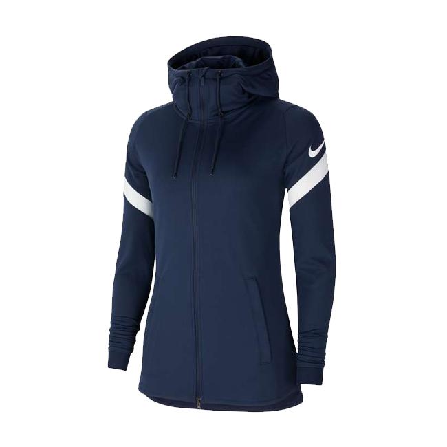 Veste d'entrainement Nike Strike 21 Femme Marine Blanc CW6098-451