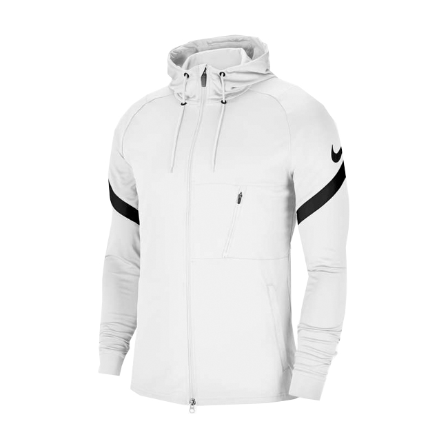 Veste d'entrainement Nike Strike 21 Full zip Blanc Noir CW5865-100