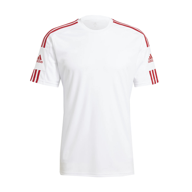 Maillot ADIDAS Squadra 21 Blanc Rouge GN5725 GN5741
