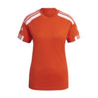Maillot ADIDAS Squadra 21 Femme Orange Blanc GN8087