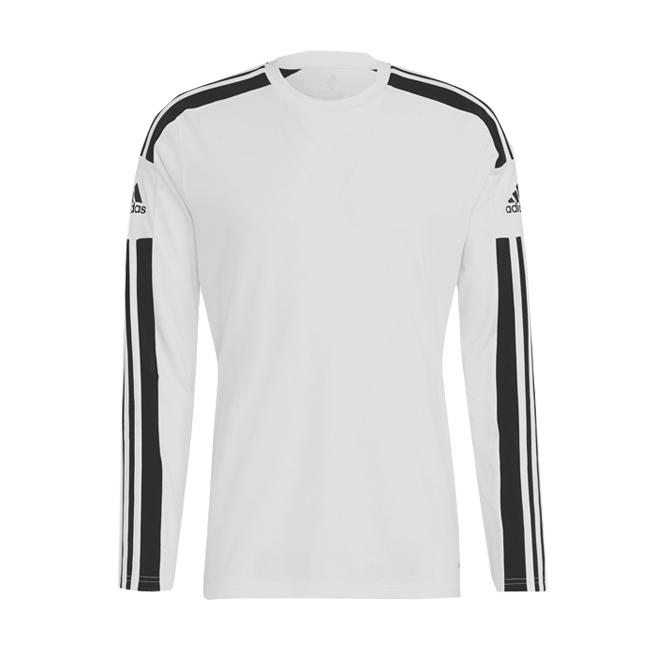 Maillot ADIDAS Squadra 21 Manches Longues Blanc Noir GN5793