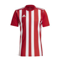 Maillot ADIDAS Striped 21 Rouge Blanc GN7624 GN7636