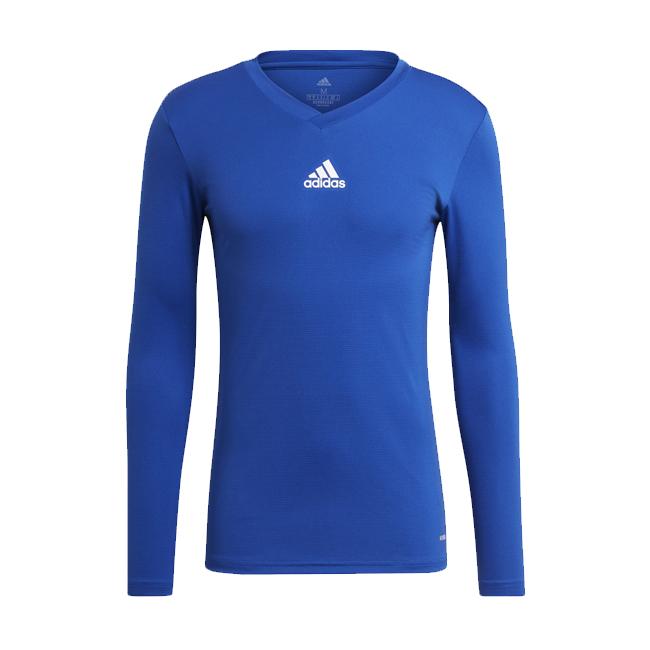 Maillot ADIDAS Team Base Bleu roi Blanc GK9088 GK9087