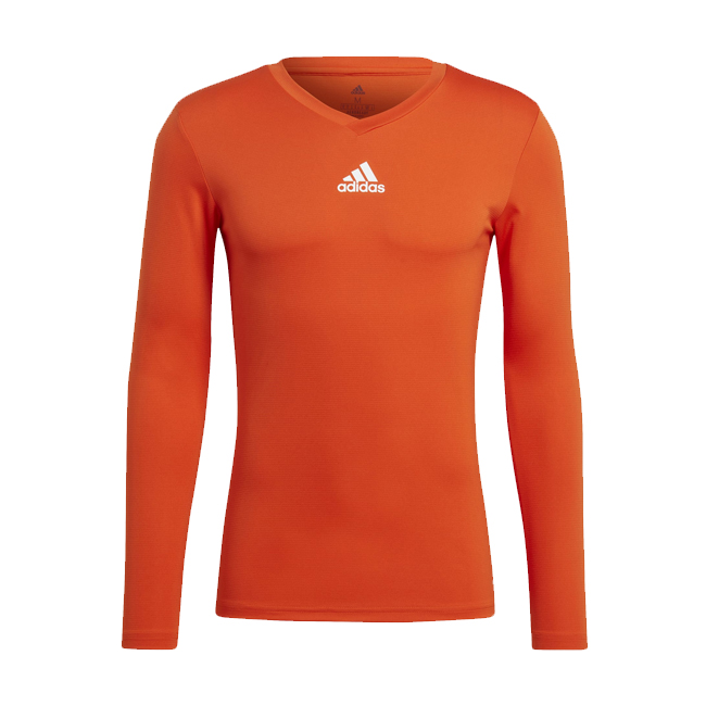 Maillot ADIDAS Team Base Orange Blanc GN7508 GN7511