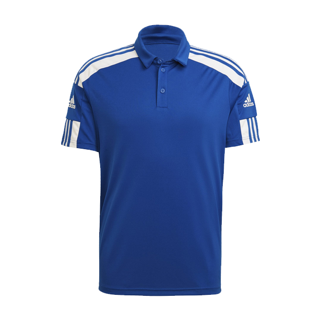 Polo ADIDAS Squadra 21 Downtime Bleu Blanc GP6427 GP6425