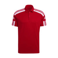 Polo ADIDAS Squadra 21 Downtime Rouge Blanc GP6429 GP6423