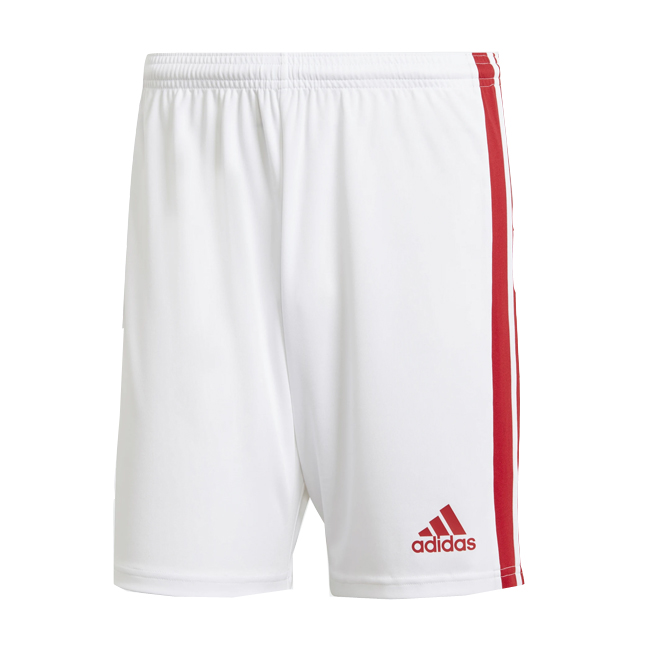 Short ADIDAS Squadra 21 Blanc Rouge GN5770 GN5763