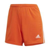 Short ADIDAS Squadra 21 Femme Orange Blanc GN8086