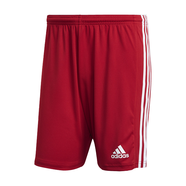 Short ADIDAS Squadra 21 Rouge Blanc GN5771 GN5761