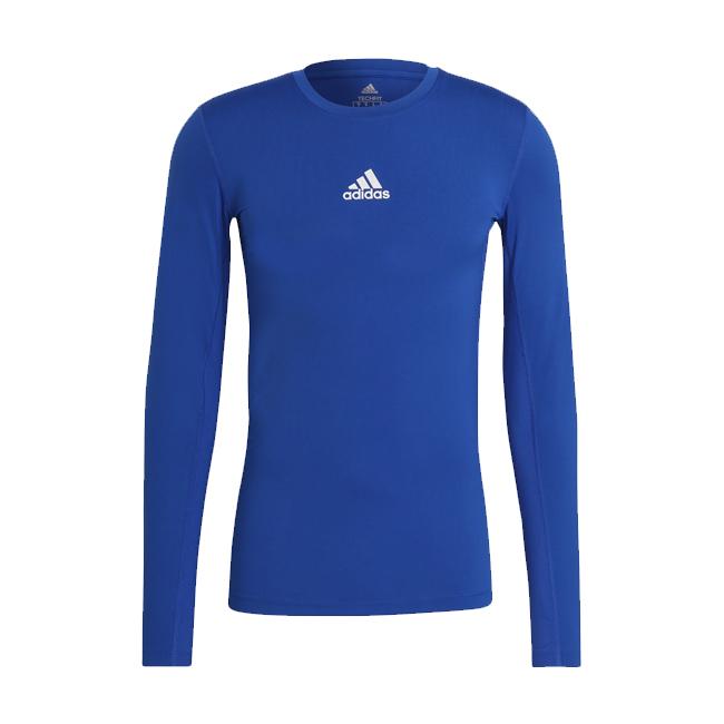 Sous maillot ADIDAS Tech Fit Climawarm Bleu roi Blanc H23127