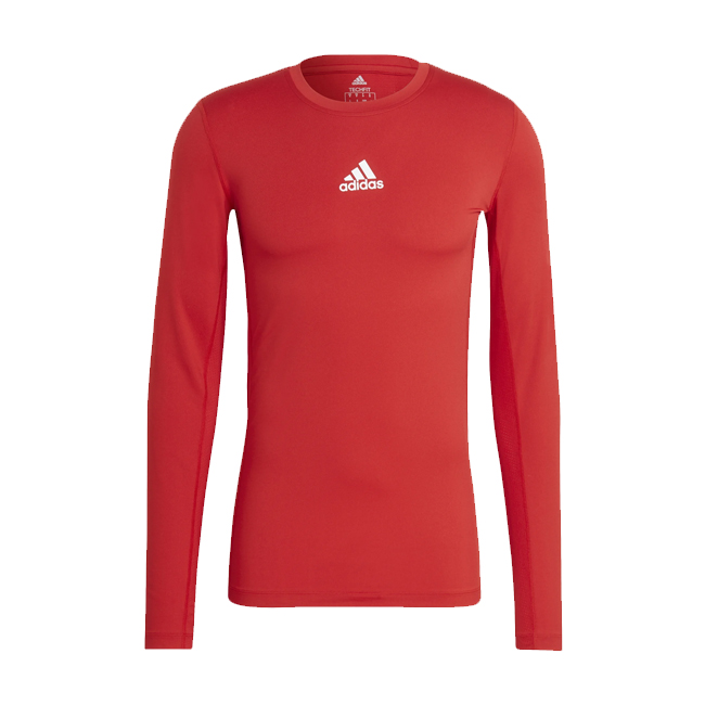 Sous maillot ADIDAS Tech Fit Climawarm Rouge Blanc H23126