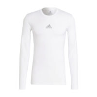 Sous maillot ADIDAS Tech Fit Long Sleeves Blanc Noir GU7334 H23156