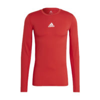 Sous maillot ADIDAS Tech Fit Long Sleeves Rouge Blanc GU7336 H23154
