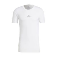 Sous maillot ADIDAS Tech Fit Short Sleeves Blanc Noir GU4907