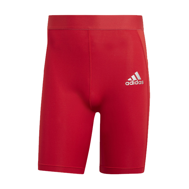 Sous short ADIDAS Tech Fit Rouge Blanc GU7314