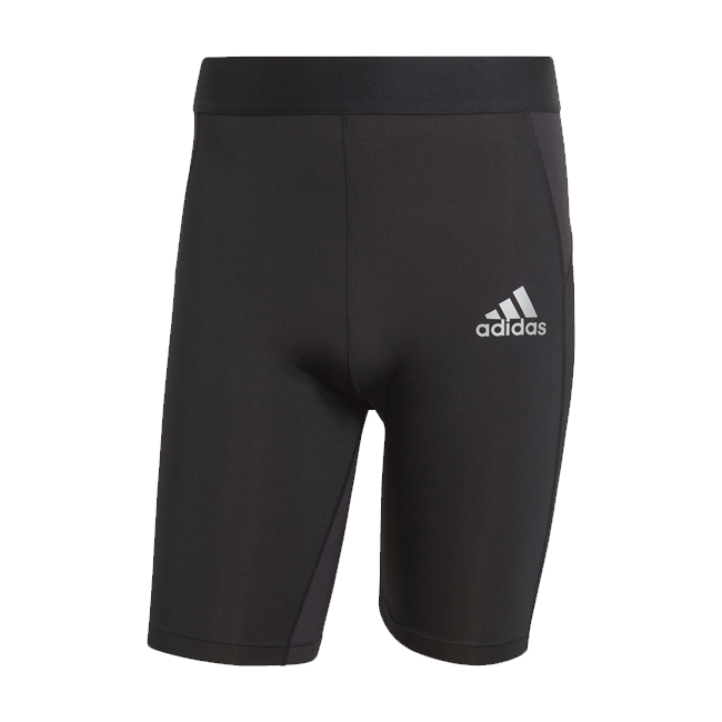 Sous short ADIDAS Tech Fit Tight Noir Blanc GU7311 H23160