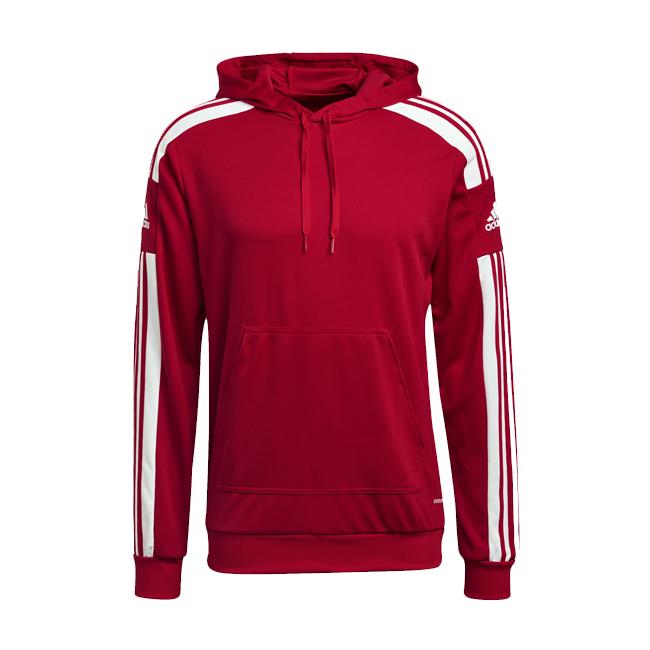 Sweat a capuche ADIDAS Squadra 21 Rouge Blanc GP6435 GP6433