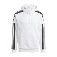 Sweat-shirt a capuche ADIDAS Squadra 21 Blanc Noir GT6637