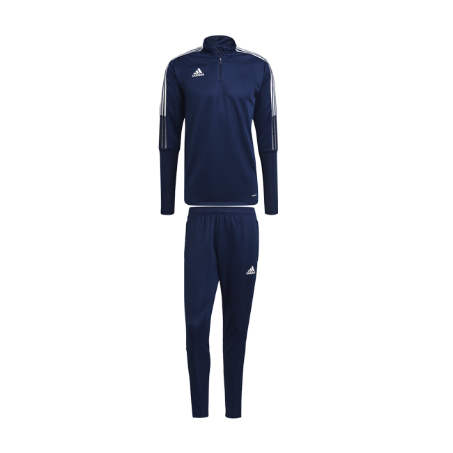 Survetement ADIDAS Tiro 21 entrainement Bleu marine Blanc GE5426 GK9661 GE5427 GK9659
