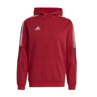 Sweat a capuche ADIDAS Tiro 21 Rouge Blanc GM7353 GM7338