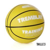 Ballon de Basket caoutchouc no 3 - TRAINING Tremblay BTR3