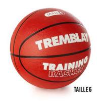 Ballon de Basket caoutchouc no 6 - TRAINING Tremblay BTR6