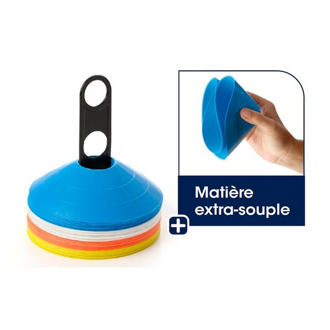 Kit de delimitation - 40 cones extra-souples EN142