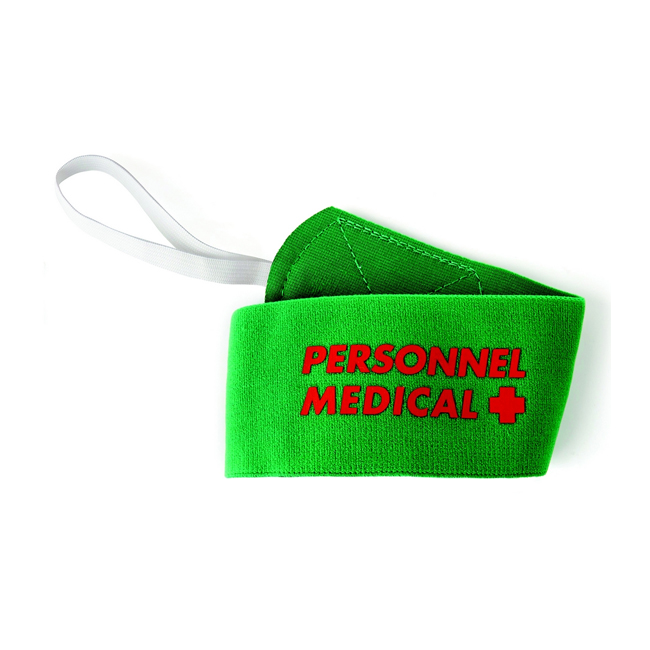 Brassard Rugby Personnel Medical avec velcro Tremblay B12