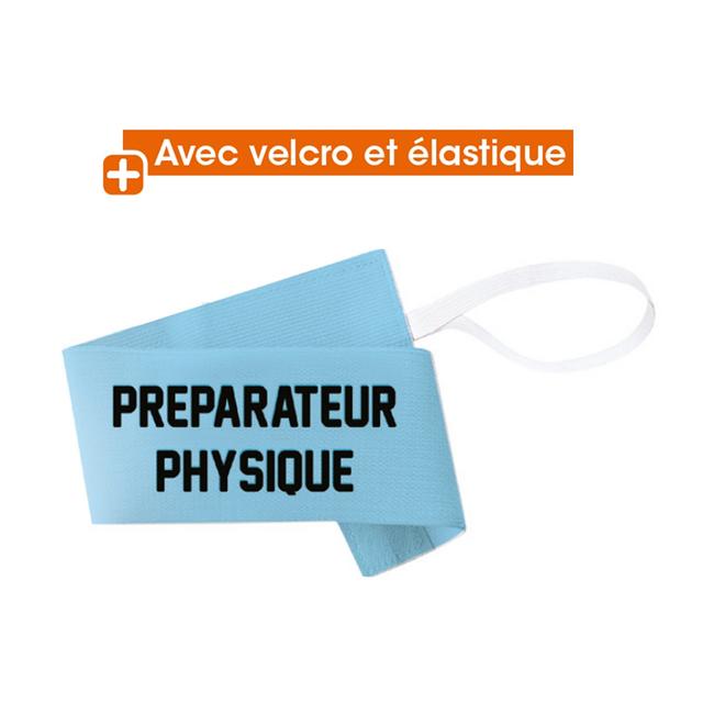 Brassard Rugby Préparateur Physique avec velcro Tremblay B15