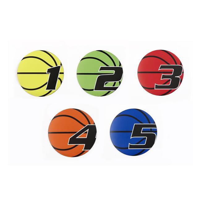 Marquage au sol pour basketball - No 1 a 5 Tremblay EN496