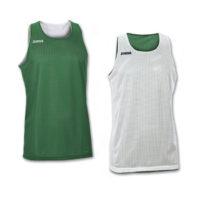 Maillot basket reversible Joma Aro 100050 450 Vert Blanc