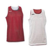 Maillot basket reversible Joma Aro 100050 600 Rouge Blanc