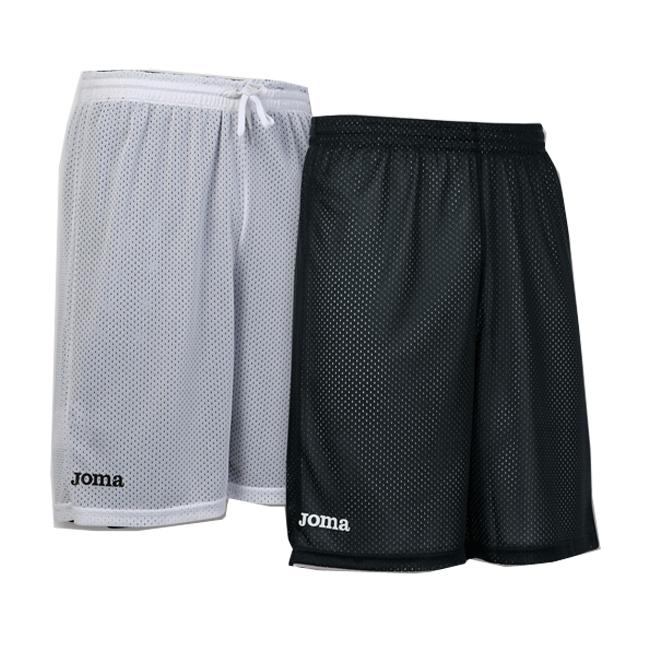 Short basket reversible Joma Rookie 100529 100 Noir Blanc