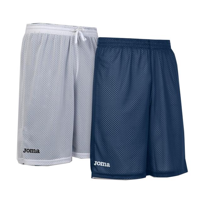 Short basket reversible Joma Rookie 100529 200 Bleu marine Blanc
