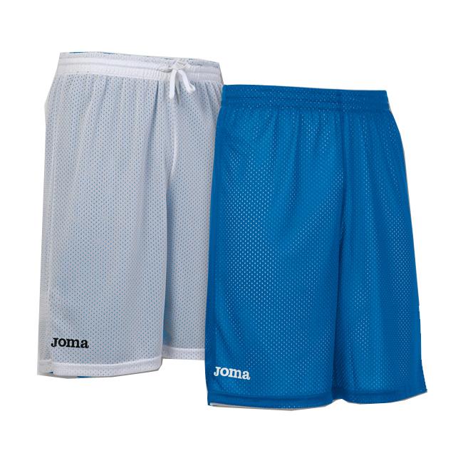 Short basket reversible Joma Rookie 100529 700 Bleu rooyal Blanc